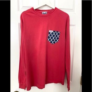 Long Sleeve Fraternity Collection T Shirt-Size M